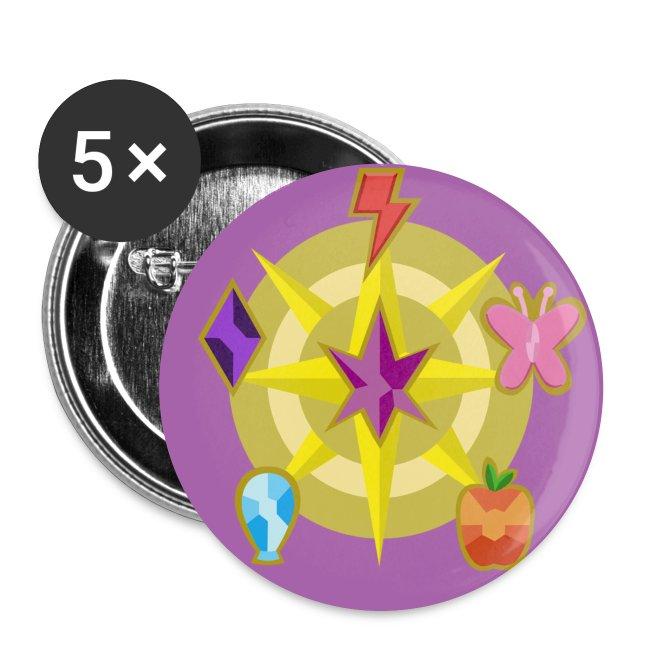 Elemental button