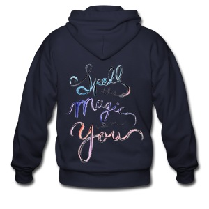 [OW] Spell the Magic - Men's Zip Hoodie