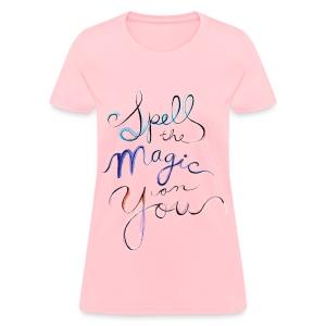 [OW] Spell the Magic - Women's T-Shirt