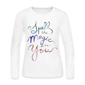 [OW] Spell the Magic - Women's Long Sleeve Jersey T-Shirt