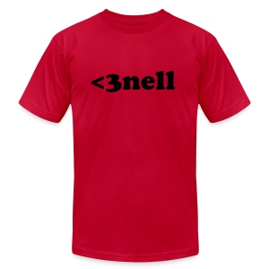 Heart-nell - Men's T-Shirt by American Apparel