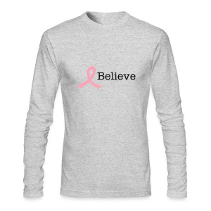 Men's long sleeve - believe - Men's Long Sleeve T-Shirt by Next Level