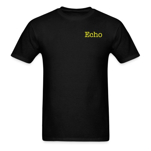 Black and Yellow - Men's T-Shirt
