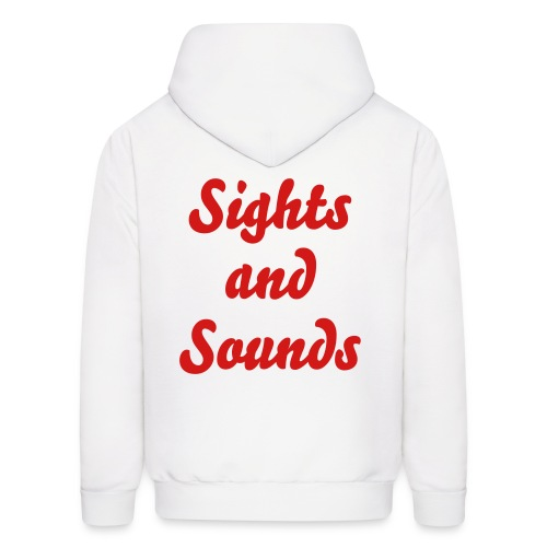 Sights and Sounds Plain - Men's Hoodie