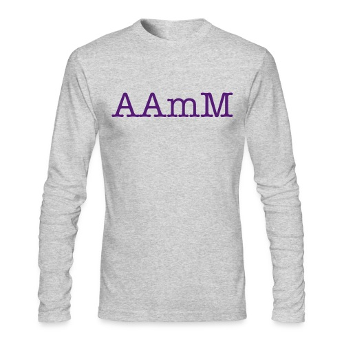 AAmM -2 - Men's Long Sleeve T-Shirt by Next Level