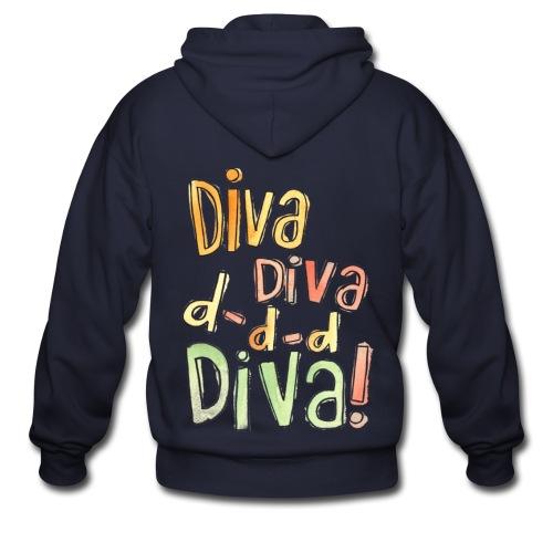[AS] Diva - Men's Zip Hoodie