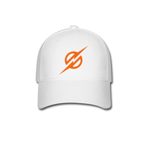 Orange Lightning - Baseball Cap