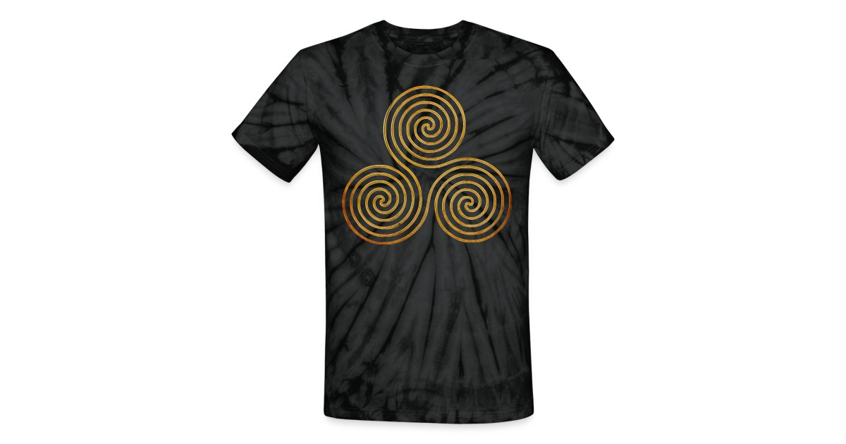 Eddarts designs for good vibrations triple spiral one for How do you dye a shirt