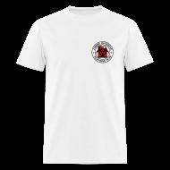 T-Shirts ~ Men's T-Shirt ~ 2-UTLogo-MStd (Black & Red)