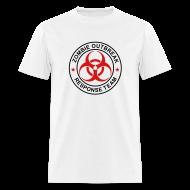 T-Shirts ~ Men's T-Shirt ~ 1-ULogo-MStd-Full (Black & Red)