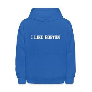 I Like Boston - Kids' Hoodie