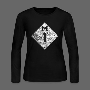 Woodward Avenue - Women's Long Sleeve Jersey T-Shirt