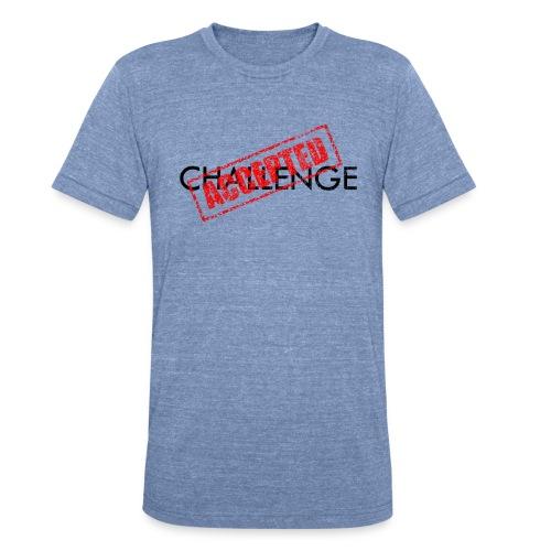 Challenge Accepted | Robot Plunger - Unisex Tri-Blend T-Shirt