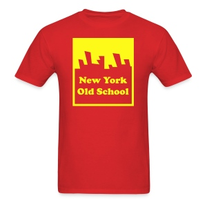 New York Old School Logo Shirt by New York Old School - Men's T-Shirt