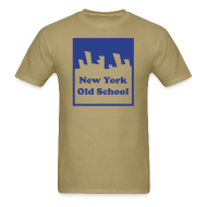 T-Shirts ~ Men's T-Shirt ~ New York Old School Logo Shirt by New York Old School