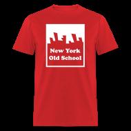 T-Shirts ~ Men's T-Shirt ~ New York Old School Logo Shirt by New York Old School