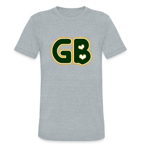 GB Love - Unisex Tri-Blend T-Shirt by American Apparel
