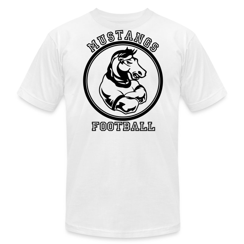 Custom Mustangs Sports Graphic For Teams T Shirt Spreadshirt