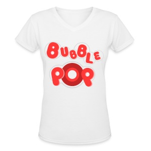[4M] Bubble Pop - Women's V-Neck T-Shirt
