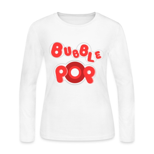 [4M] Bubble Pop - Women's Long Sleeve Jersey T-Shirt