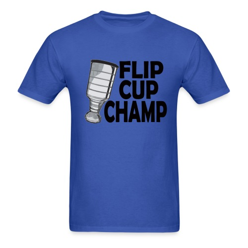 DD Flip Cup Champ - Men's T-Shirt