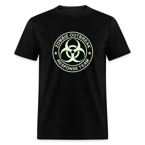 1-ULogo-MStd-Full (Glowing) - Men's T-Shirt