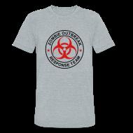 T-Shirts ~ Unisex Tri-Blend T-Shirt ~ 1-ULogo-MTri-Full (Black & Red)