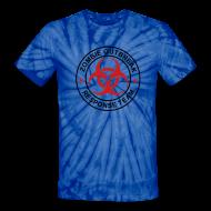 T-Shirts ~ Unisex Tie Dye T-Shirt ~ 1-ULogo-TieDie-Full (Black & Red)