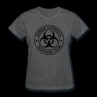 T-Shirts ~ Women's T-Shirt ~ 1-ULogo-FStd-Full (Black)