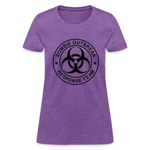 1-ULogo-FStd-Full (Black) - Women's T-Shirt