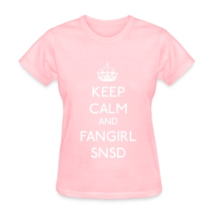 Girls' Generation - Keep Calm and Fangirl - Women's T-Shirt