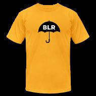 T-Shirts ~ Men's T-Shirt by American Apparel ~ BLACK UMBRELLA