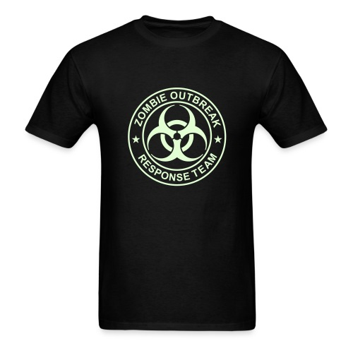 2-ULogo-MStd-Full (Glowing) - Men's T-Shirt