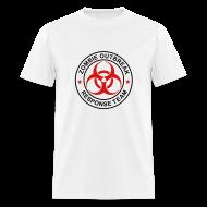 T-Shirts ~ Men's T-Shirt ~ 2-ULogo-MStd-Full (Black & Red)