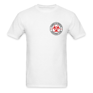 T-Shirts ~ Men's T-Shirt ~ 2-ULogo-MStd (Black & Red)