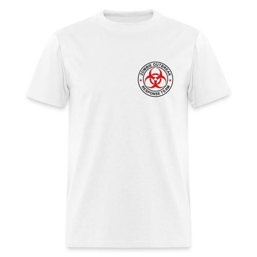 2-ULogo-MStd (Black & Red) - Men's T-Shirt