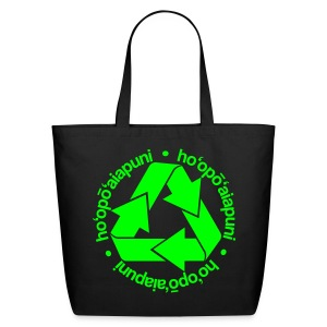 (Hawaiian) Recycle - Eco-Friendly Cotton Tote