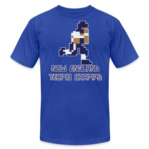 New England Tecmo Champs - Men's T-Shirt by American Apparel