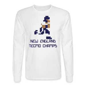 New England Tecmo Champs - Men's Long Sleeve T-Shirt