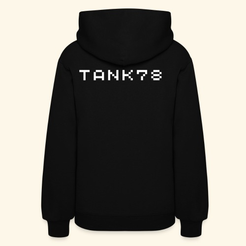 Tank78 (with backprint) - Women's Hoodie