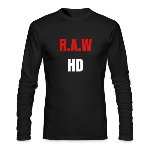 RAW - Men's Long Sleeve T-Shirt by Next Level