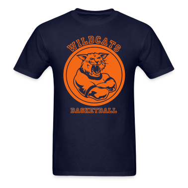 Wildcats or Wilcat Sports Team Mascot T-Shirts