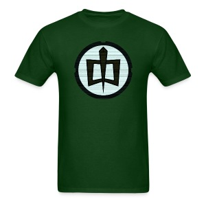 GAH Retro - Forest Green - Men's T-Shirt