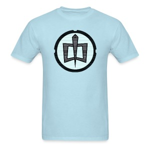 GAH Retro - Sky Blue - Men's T-Shirt