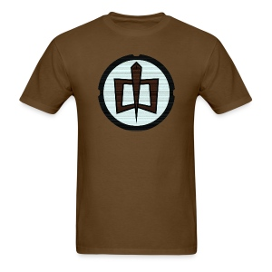 GAH Retro - Brown - Men's T-Shirt