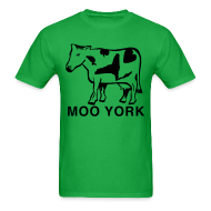 T-Shirts ~ Men's T-Shirt ~ Moo York Shirt by New York Old School