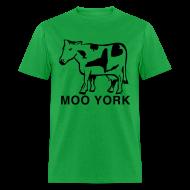 T-Shirts ~ Men's T-Shirt ~ Moo York Shirt by New York Old School