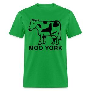 Moo York Shirt by New York Old School - Men's T-Shirt