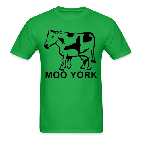 Moo York Shirt by New York Old School - Men's T-Shirt