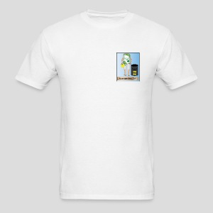 AwesomeFest White T  2011 - Men's T-Shirt